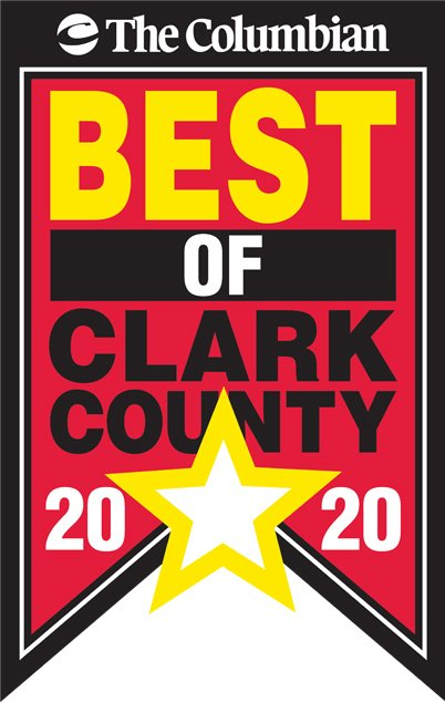 Best roofer award in Clark County 2020