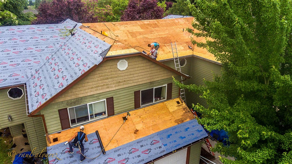 Roofing contractor near me in vancouver wa